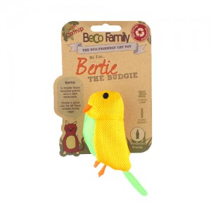 Beco Family Catnip Toy - Bertie the Budgie