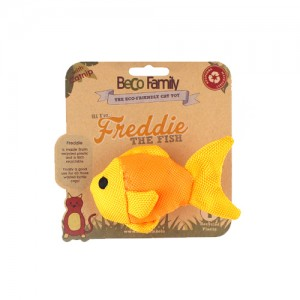 Beco Family Catnip Toy - Freddie the Fish