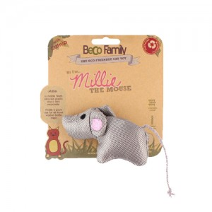 Beco Family Catnip Toy - Millie the Mouse