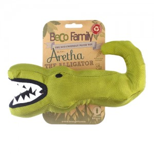 Beco Family Plush Toy - Aretha the Alligator
