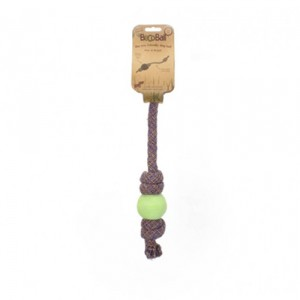 Beco Ball on Rope Small Groen