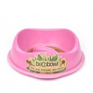 Beco Slow Feed Bowl - Roze