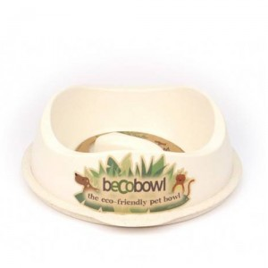 Beco Slow Feed Bowl - Wit
