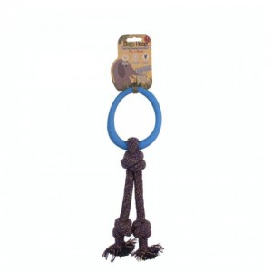 Beco Hoop on Rope Blauw - Large