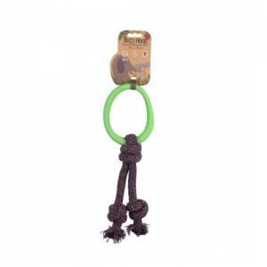 Beco Hoop on Rope Groen - Large