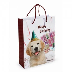 Beeztees Cadeautasje - Happy Birthday
