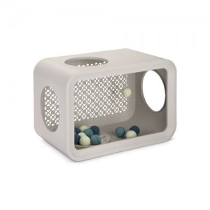 Beeztees Cat Cube Play - Dune Grey