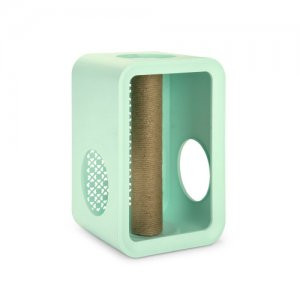 Beeztees Cat Cube Scratch - Mellow Mint