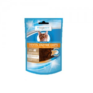 Bogadent Dental Enzyme Chips met Kip - Kat 50 gr