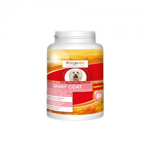 Bogavital Shiny Coat Support Dog - 120 tabletten