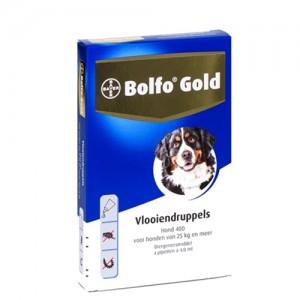 Bolfo Gold Hond 400 – 4 Pipetten