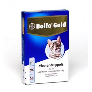 Bolfo Gold Kat 40 - 2 Pipetten