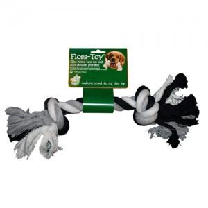 Boon Floss-Toy - Zwart/ Wit - Groot