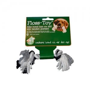 Afbeelding Boon Floss-Toy - Zwart/ Wit - Mini