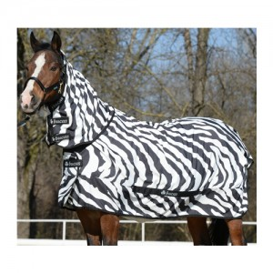 Bucas Sweet Itch Zebra Full Neck 145
