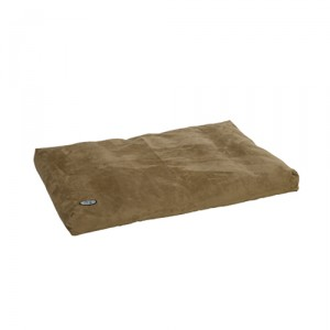 Buster Memory Foam Dog Bed - Taupe 100x70 cm