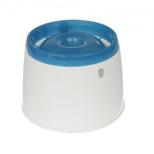 Catit Fresh & Clear Drinking Fountain Blauw/wit - 2L