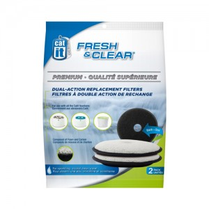 Catit Senses Fresh & Clear Filter - 2 filters