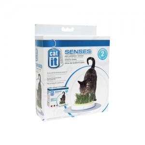 Catit Senses Grass Garden Navulling - 2 x 70 gram