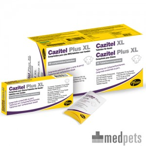 Cazitel Plus XL - 10 tabletten
