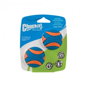 Chuckit! Ultra Squeaker Ball - Small - 2 stuks
