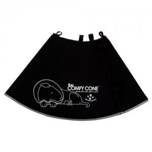 Comfy Cone maat XS - Zwart