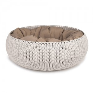Curver Cozy Pet Bed - Creme