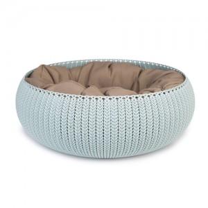 Curver Cozy Pet Bed - Lichtblauw (mint)