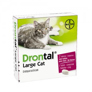 Drontal Large Cat - 2 tabletten