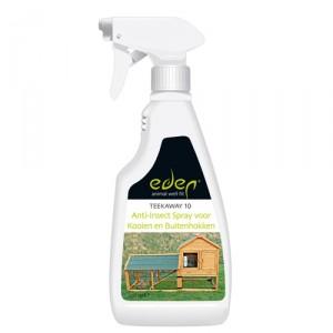 Eden Anti-Insect Spray voor Kooien en Buitenhokken 500ml