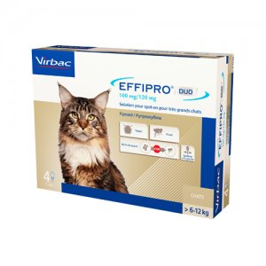 Effipro DUO Spot-on Kat > 6 kg - 4 Pipetten