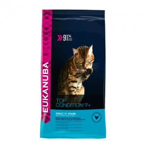Eukanuba Cat Top Condition 7+ - 10kg