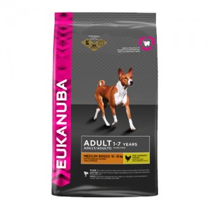 Eukanuba Dog Adult Medium Breed (Kip) 9 kg