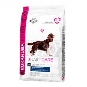 Eukanuba Overweight & Sterilized - Daily Care - Hond - 12,5 kg