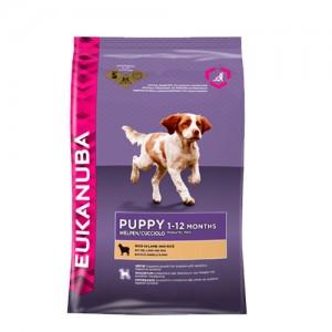 Eukanuba Puppy & junior Lam & Rijst Hondenvoer 2.5 kg