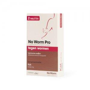 No Worm Pro Kat - 2 tabletten