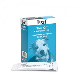 Exil Tick Off Knijpampullen - 6 x 1ml