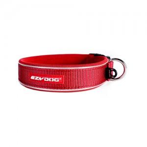 EzyDog Neo Classic Halsband - M - Rood