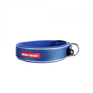 EzyDog Neo Classic Halsband - XL - Blauw