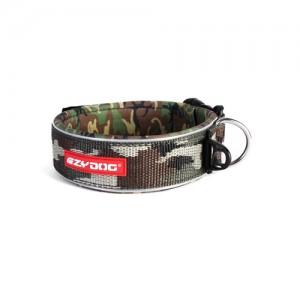 EzyDog Neo Wide Halsband - L - Groen Camouflage