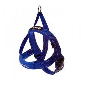 EzyDog Quick-Fit tuig - XL - Blauw