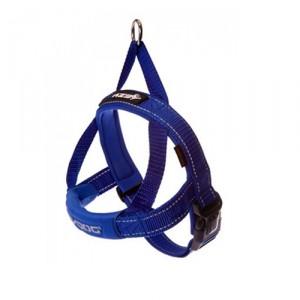 EzyDog Quick-Fit tuig - XXS - Blauw