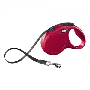 Flexi Rollijn New Classic - Tape Leash - M - Rood
