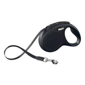 Flexi Rollijn New Classic - Tape Leash - S - Zwart