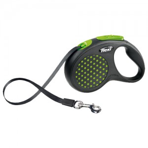 Flexi Rollijn Design – Tape Leash – S – Groen