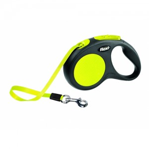 Flexi Rollijn Neon Classic – Tape Leash – Small