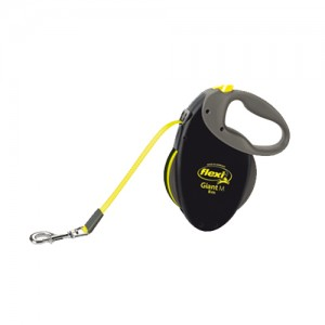 Flexi Rollijn Neon Giant - Tape Leash - Large