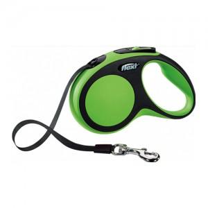 Flexi Rollijn New Comfort - Tape Leash - L (8 m) - Groen