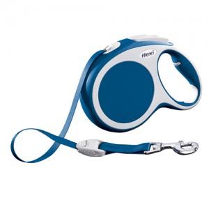 Flexi Rollijn Vario - Tape Leash - L (5 m) - Blauw