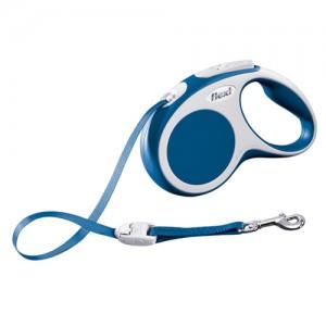 Flexi Rollijn Vario - Tape Leash - S (5 m) - Blauw